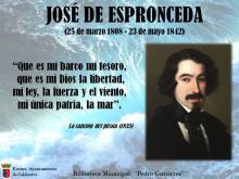 José de Espronceda cartel
